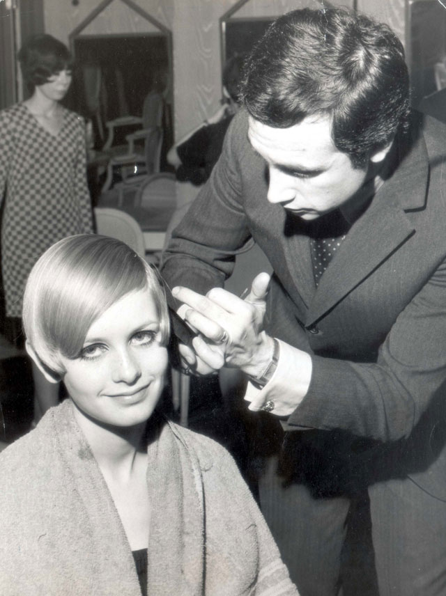 Hairdressing Icons Leonard Lewis - Twiggy haircut