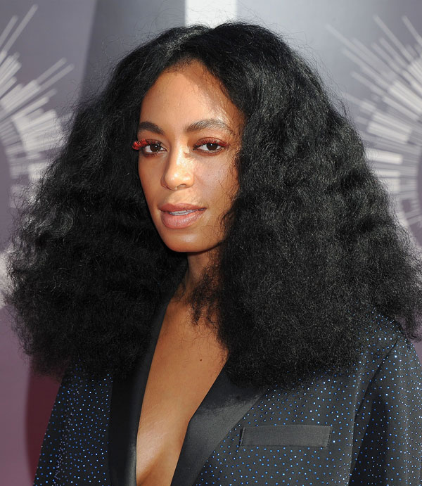 Solange channels Diana Ross and the days of disco with a mass of fuzzy curls