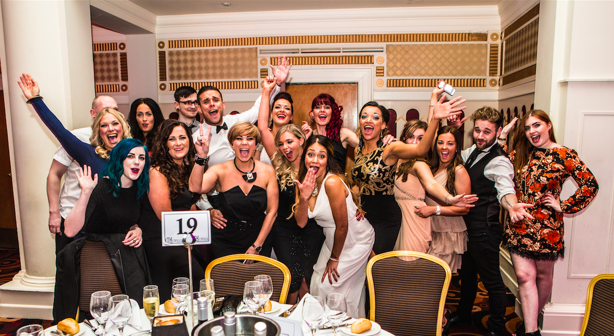 The Great Lengths Team at the Great Lengths Awards 2014/15