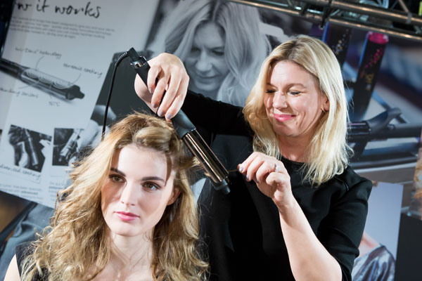 ghd curve uncovered Takes Tools on Tour