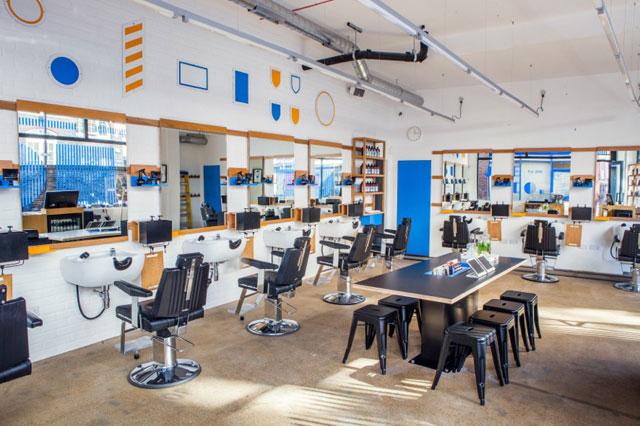 Joe and Co Barbershop Interiors Inspiration
