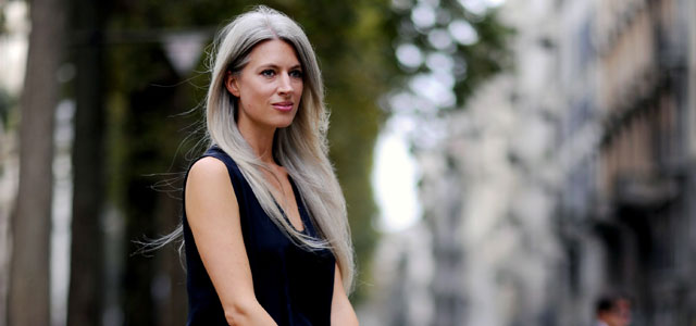 Grey Hair Leads the Way for Colour Trends in 2015
