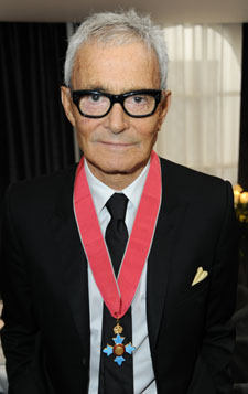 Vidal Sassoon Awarded CBE for Services to Hairdressing