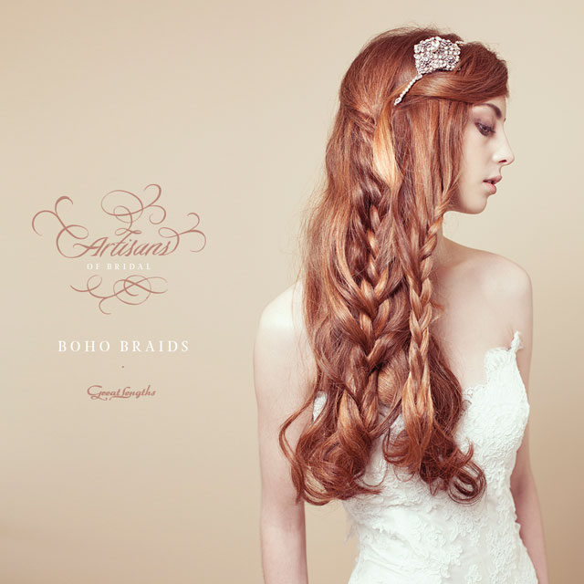 Bridal Hair Tutorial Boho Wedding Braids