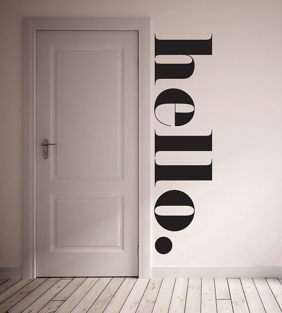 Salon Art The Very Best Salon Wall Vinyl Ideas