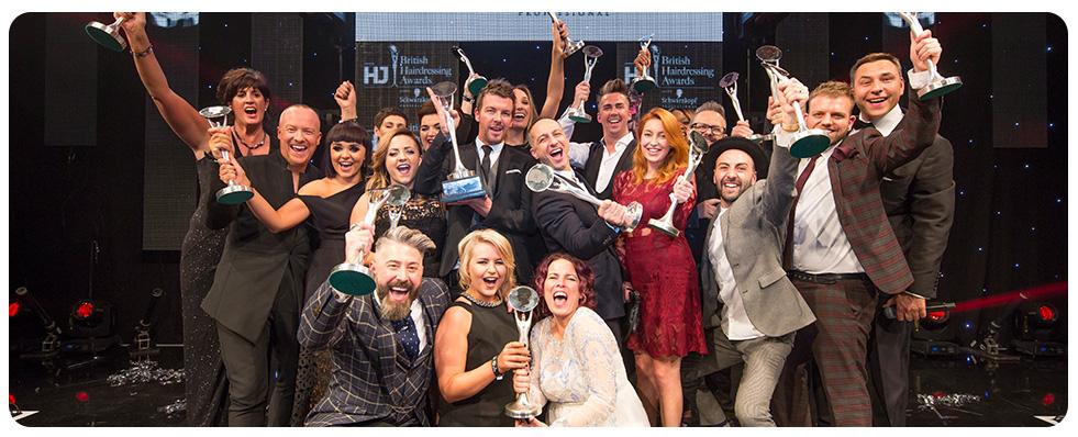 British Hairdressing Awards winners 2015