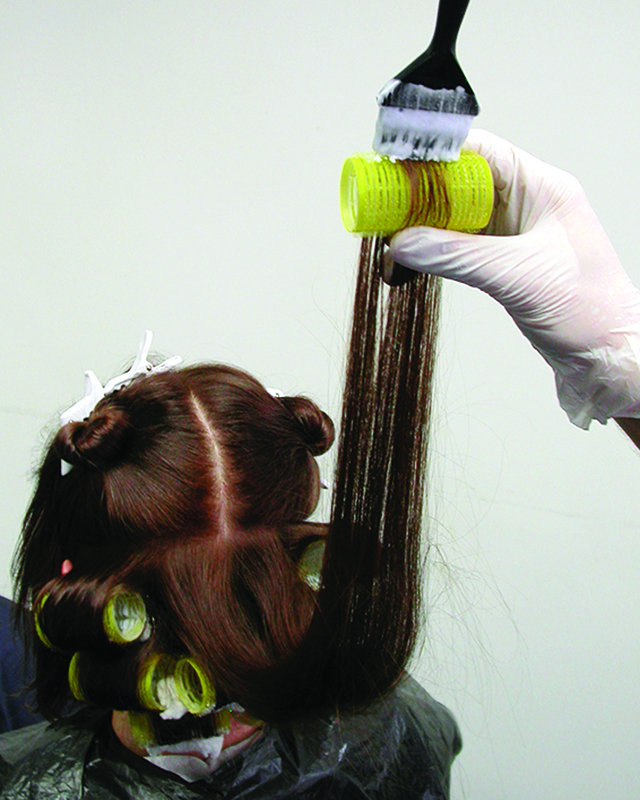 Schwarzkopf colour step by step